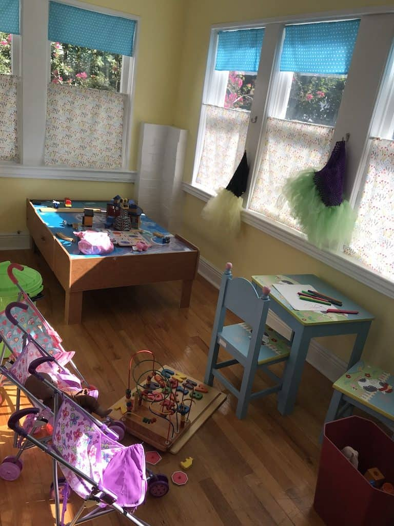 Play room at Birth Center of St. Pete