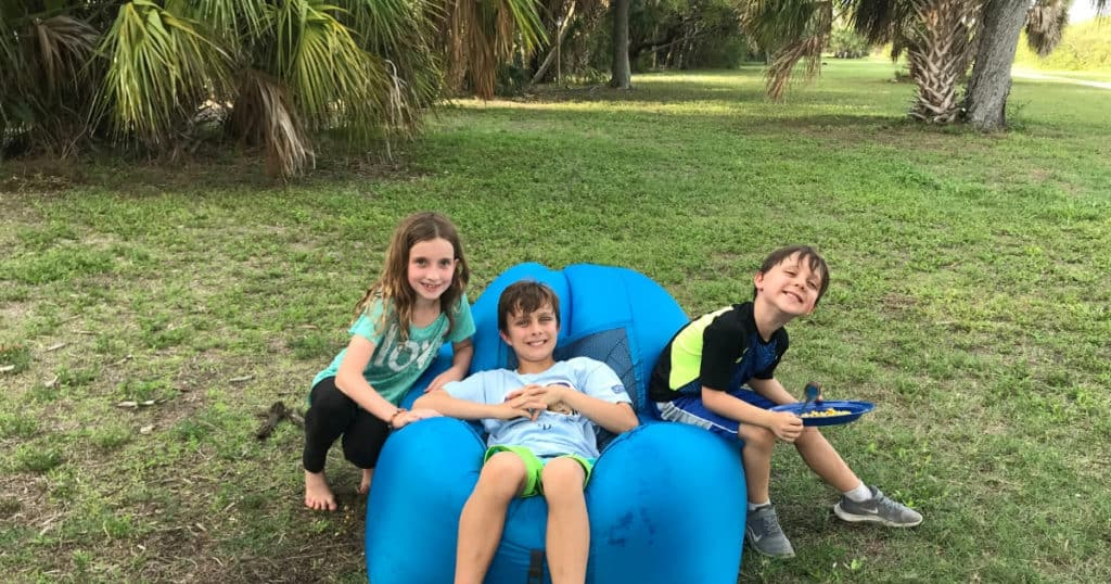 Camping in Ft. De Soto with Kids