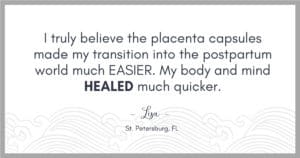 review for placenta services