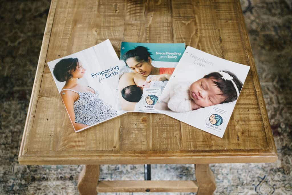 Birth-and-baby-care-class-course-books